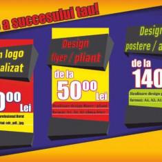 Design materiale publicitare sau grafice - Printare