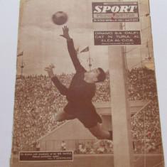 Revista SPORT- septembrie 1963(foto RAPID Bucuresti, Dinamo in CCE)