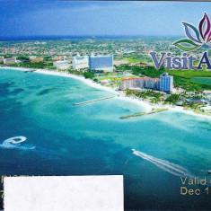 Card plastic de reduceri in Aruba - lot colectie