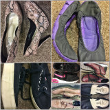 Papuci Second Hand - Adidasi dama, Culoare: Alb, Marime: 24
