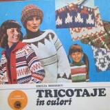 Tricotaje in culori - Carte folclor