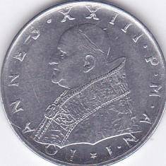 Moneda Vatican 100 Lire 1959 - KM#64.1 XF ( Papa Ioan al XXIII-lea ), Europa