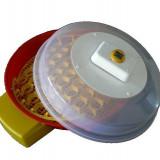 Incubator de oua Puisor X2 intoarcere automata si termohigrometru - Incubator oua