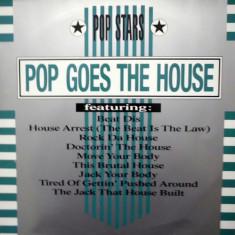 Pop Stars - Pop Goes The House disc vinil Maxi Single mixat (house) - Muzica House