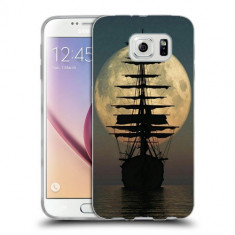 Husa Samsung Galaxy S6 Edge Plus G928 Silicon Gel Tpu Model Moon Ship