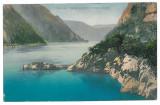 3791 - ORSOVA, Danube Kazan - old postcard - used - 1914