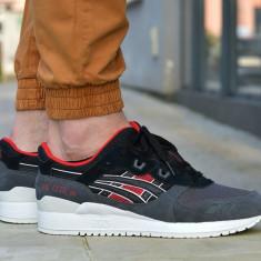 Pantofi spor - Adids Asics Gel Lyte III Core Plus Originali - Adidasi barbati Asics, Marime: 43.5, Culoare: Din imagine, Piele intoarsa