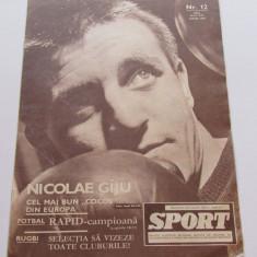 Revista SPORT-iunie 1967 (RAPID Bucuresti-campioana)