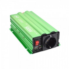Invertor de tensiune PNI L500W alimentare duala 12V/24V iesire 220V - Invertor Auto