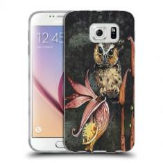 Husa Samsung Galaxy S6 Edge Plus G928 Silicon Gel Tpu Model Owl Painted - Husa Telefon