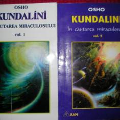 KUNDALINI - In cautarea miraculosului - OSHO vol. I si I - Carte dezvoltare personala
