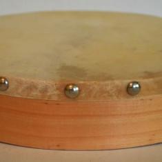 Instrument muzical percutie - toba manuala (usor uzata) - Cinele