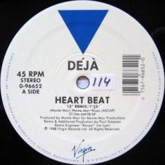 Deja - Heart Beat 1988 disc vinil Maxi Single Garage House - Muzica House