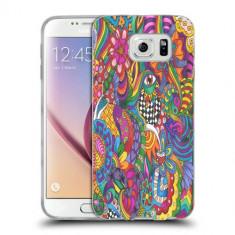 Husa Samsung Galaxy S7 Edge G935 Silicon Gel Tpu Model Psychedelic Draw - Husa Telefon