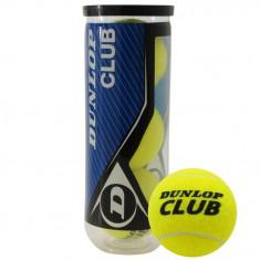 Oferta! Set 3 mingi tenis de camp Dunlop - originale - Minge tenis de camp