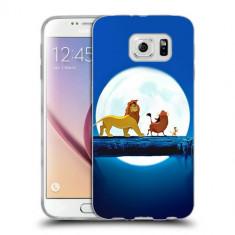 Husa Samsung Galaxy S7 Edge G935 Silicon Gel Tpu Model Hakuna Matata - Husa Telefon