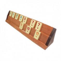 Set joc remi din lemn masiv Rummy Kardesler - Joc board game