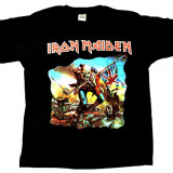 "Tricou Iron Maiden "" the trooper "" model 2, Marime: L"