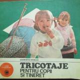 Tricotaje pentru copii si tineret - Carte folclor
