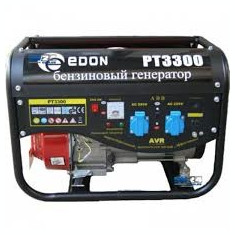 Generator Curent Electric-Benzina EDON -12V/220V-3000W - 7HP