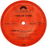 One Of Them - Jump In 1985 disc vinil Maxi Single italo-disco