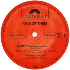 One Of Them - Jump In 1985 disc vinil Maxi Single italo-disco - Muzica Dance