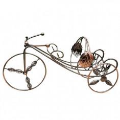 Suport vin metalic bicicleta 35 cm