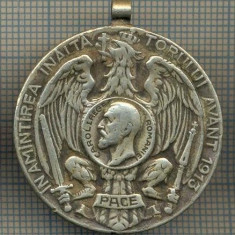 "ZET 40 MEDALIE  - ,,IN AMINTIREA INALTATORULUI AVANT 1913"""