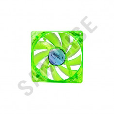* NOU * NOU * Ventilator DeepCool XFAN 120U BB Green LED 120mm GARANTIE !!!