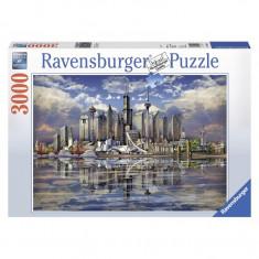 Puzzle Orizonturi din America de Nord, 3000 piese Ravensburger