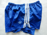 Pantaloni scurti vintage luciosi Adidas Made in West Germany. M (L), vezi dim., M/L