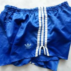 Pantaloni scurti vintage luciosi Adidas Made in West Germany. M (L), vezi dim. - Bermude barbati, Culoare: Din imagine