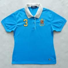 Tricou Polo by Ralph Lauren Polo Club; marime XXL, vezi dimensiuni; ca nou - Tricou dama, Culoare: Din imagine, Maneca scurta