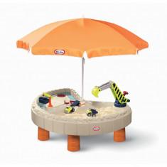 Masuta pentru nisip si apa cu utilaje Little Tikes - Spatiu de joaca