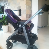 Carucior Graco Transformabil Sky 2 in 1 Purple Shadow Editie Limitata - Carucior copii 2 in 1 Graco, Altele