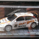 Macheta metal raliu Ford Focus RS WRC Rally 2006 - Valentino Rossi - Altaya 1/43 - Macheta auto