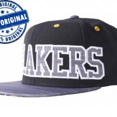 Sapca Adidas Los Angeles Lakers Flat Brim - sapca originala - Sapca Barbati Adidas, Marime: Marime universala, Culoare: Din imagine