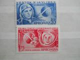 1963 LP563  COSMONAUTICA VOSTOK 5 si 6, Nestampilat