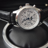 Longines Master Collection Moon Phases - Ceas barbatesc, Mecanic-Automatic