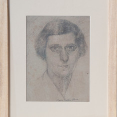 MARIA CIURDEA STEURER -AUTOPORTRET - Pictor roman, Portrete, Acrilic, Altul