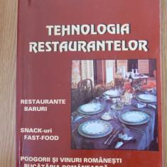 TEHNOLOGIA RESTAURANTELOR- RADU NICOLESCU - Carti Industrie alimentara