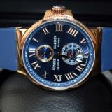 ULYSSE NARDIN LE LOCLE SUISSE, BLUE & GOLD, AUTOMATIC !!! - Ceas barbatesc, Mecanic-Automatic