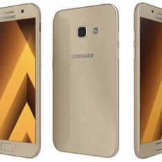 Samsung Galaxy A3 2017 Gold - Telefon Samsung, Neblocat, Single SIM, 2 GB