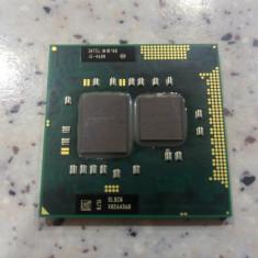 Procesor laptop Intel i5-460M socket G1, 2, 53 Ghz up to 2.80 Ghz testat ., Intel, Intel Core i5, 2500- 3000 Mhz, Numar nuclee: 2