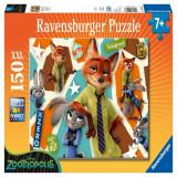 Puzzle Zootopia, 150 piese Ravensburger