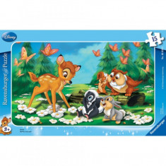 Puzzle Bambi, 15 piese Ravensburger