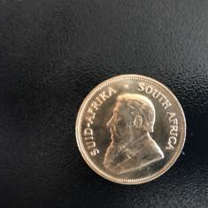 Moneda aur 22 carate 1oz krugerrand 1978 fabricatie, Europa