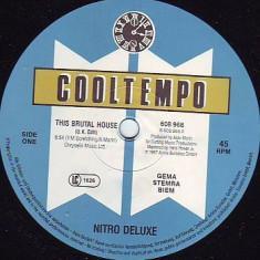 Nitro Deluxe - This Brutal House 1987 disc vinil Maxi Single house - Muzica House