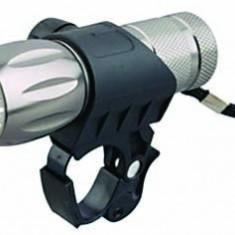 Far cu 9 LED-uri pentru bicicleta – din aluminiu - Lanterna - Accesoriu Bicicleta, Faruri si semnalizatoare