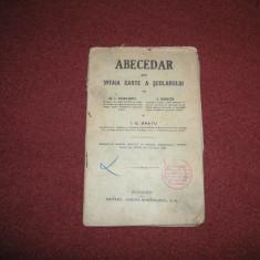 Abecedar sau intaia carte a scolarului -G.I. Chelaru, I.Ghita, I.G.Bratu - 1920
